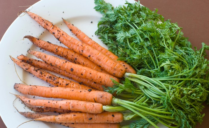 Maple Glazed Ginger Carrots