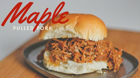 Maple Pulled Pork In the Sloooow Cooker